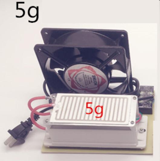 5000mg/h  Ozone Generator Fan Ozone Disinfection Machine HomeAir Purifier 220v