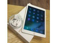 Apple iPad 9.7 Inch Wi-Fi - 128GB - Gold - Like New