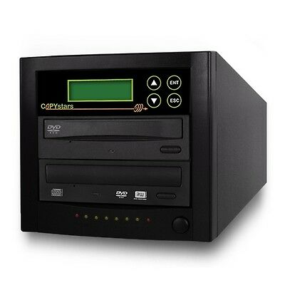 Copystars Cd Dvd Duplicator 1 - 1 Copier Sata 24x Burner Tower+power2go Software