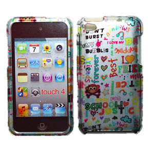 Unique Design Snap On Hard Case Cover for Apple iTouch iPod Touch 4 4th Gen