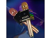 Wholesale H8 Mini LED Wireless Bluetooth Karaoke Microphone for KTV