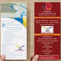 EUROPEAN CLEANCOMPANY LTD is open for new contracts in Victoria