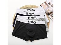EA Boxers Emporio Armani Branded Boxers for Wholesale Only.