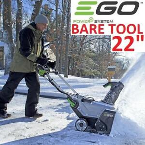 """NEW EGO 56V ELECTRIC SNOW BLOWER SNT2100 220467273 21"""" BARE TOOL SNOW THROWER SNOWBLOWER"""