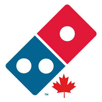 Want cash?  Domino's Pizza Delivers!
