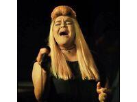 SOUL SINGER SEEKS PROFESSIONAL MUSICIANS