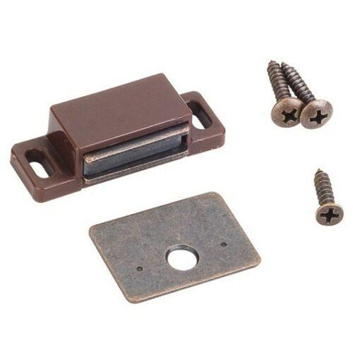Cabinet Door Magnetic Door Catch  Magnet Latch Door Holder Brown Bronze Cupboard
