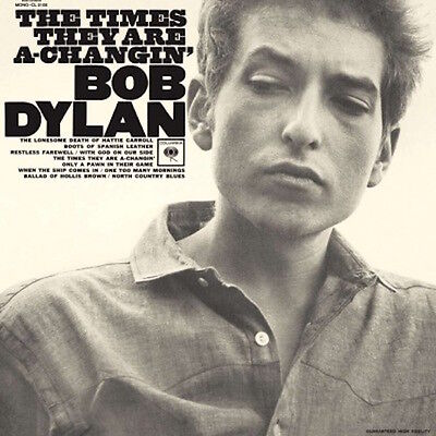 BOB DYLAN THE TIMES THEY ARE A CHANGIN NEW SEALED 180G MONO LP REISSUE IN STOCK