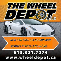 GREAT DEALS ON SUMMER AND ALLSEASON TIRES @ THE WHEELDEPOT+