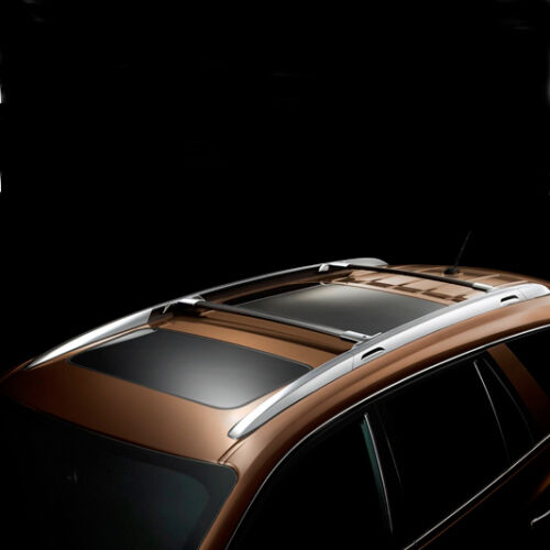 08 15 Enclave Roof Rack Cross Rails Bars Black Genuine Gm