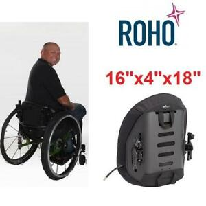 "NEW ROHO WHEELCHAIR BACK SYSTEM AG3-1618L-0 222041187 16""Wx4""Dx18""H AGILITY MID CONTOUR WHEEL CHAIR PARTS"