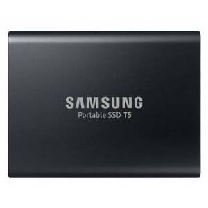 SAMSUNG 1TB Portable SSD T5 Hard Drive – Deep Black
