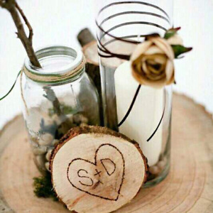 Wedding Ceterpieces for a low price and FREE WOOD!!!