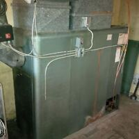 Oil Furnace and Above Ground Tank