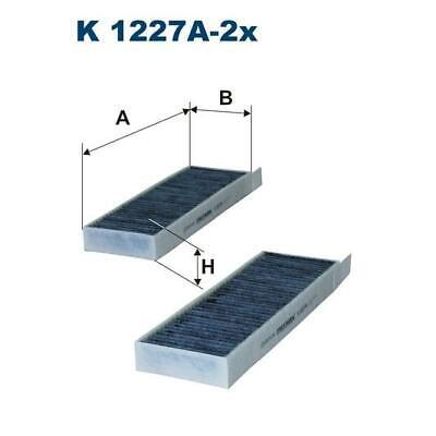 FILTERS CABIN POLLEN AIR FILTER FILTRON K 1227A-2X