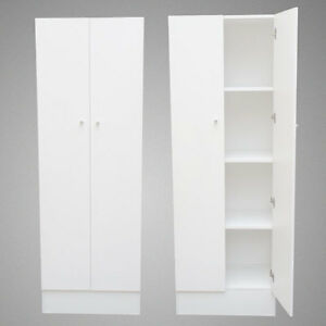 Pantry Cabinet: One Door Pantry Cabinet with Kitchen Storage ...