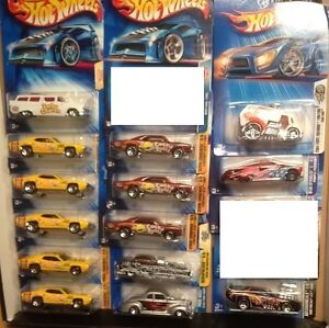 Hot Wheels with First Editions 2004 - 2005, 5 Photos included. Edmonton Edmonton Area image 3