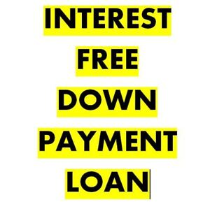 Interest Free Down Payment Help.