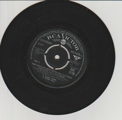 "THE MONTH FROM COUNTRY & WEST Vol 5 (October) RCX 7178 7"" SINGLE RCA"