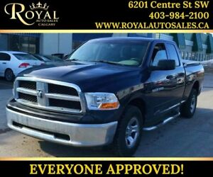 2012 Ram 1500 ST LEATHER, INT PHONE ***PRICE REDUCED***