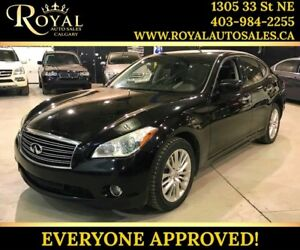 2012 INFINITI M56 Premium FULLY LOADED, LEATHER, BOSE SYS, SUNRO