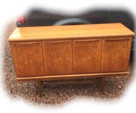 Vintage 1960's teak sideboard in a GPlan style.