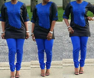 Vêtements africains brodés