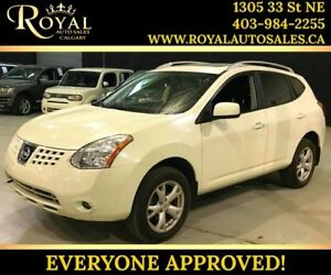 2009 Nissan Rogue SL SUNROOF, LEATHER, BOSE SYS, HEATED SEATS