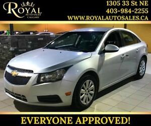 2011 Chevrolet Cruze LT Turbo w/1SA AUX INPUT, MP3 PLAYER, INT P