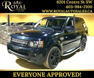 2012 Land Rover Range Rover Sport SUPERCHARGED SUNROOF, LEATHER,
