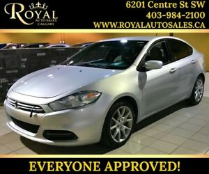 2013 Dodge Dart SXT AUX INPUT, MP3 PLAYER, MANUAL TRANS