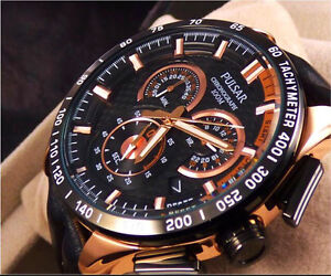 Brand New Pulsar World Rally PX7006 Chronograph Watch by Seiko Maroubra Eastern Suburbs Preview