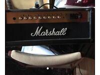 Marshall large cab head MG100FX