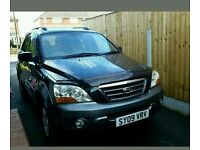 Kia sorrento 2009 cdti low mileage diesel automatic black