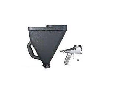 Air Texture Gun Hopper Gun - Square Hopper