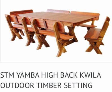 Custom made Kwilla Outsoor Setting For Sale