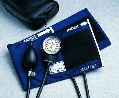 Aneroid Sphygmomanometer Adult Bp Blood Pressure Cuff Pocket Style Hand Standard