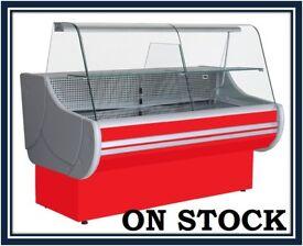 NEW £1375+VAT 200cm (6.6 feet) Serve Over Counter Display Fridge EGIDA N2612