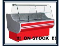 NEW £1114 +VAT 157cm (5.1 feet) Serve Over Counter Display Fridge EGIDA on STOCK