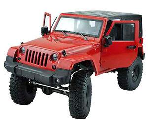 AMEWI AMXrock Full CNC Alu D90 Crawler Jeep Wrangler  + Seilwinde, RC Truck