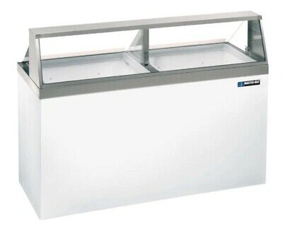 Master-bilt Dd-66 69 Straight Glass Ice Cream Dipping Cabinet