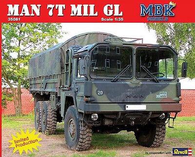 MAN 7t mil gl KAT1 - MBK Models/Revell - 1:35  - 35081