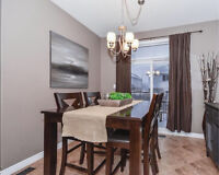 Pub Height Dining Table & 8 Chairs