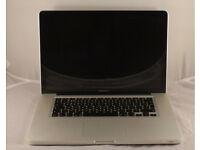 "MacBook Pro 15"" 3.1GHz Core i7, 16GB Memory, 500GB, WARRANTY, Adobe cs6, Final Cut"