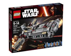 LEGO Star Wars Rebel Frigate (75158). NEW & SEALED BOX. Includes Ahsoka Tano (Retired set)