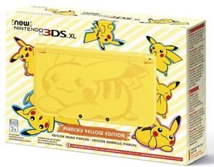 New Nintendo 3DS XL - Pikachu Edition (Brand new in box)