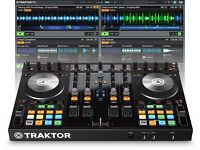 MINT CONDITION Native Instruments Traktor S4 MK2 and accessories (case, dust cover)