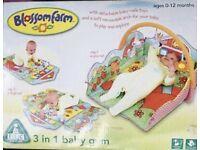 SOLD ELC Blossom Farm 3 in 1 Baby Gym / Playmat