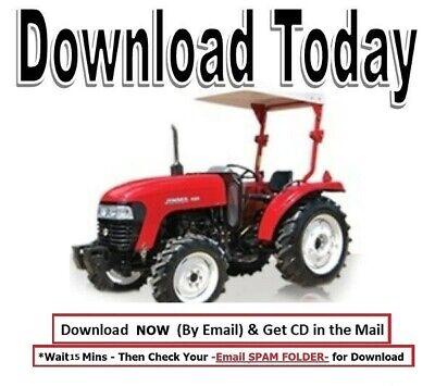 Jinma 2810 T290 T300 T330 Tractor Complete Tech Workshop Service Repair Manual