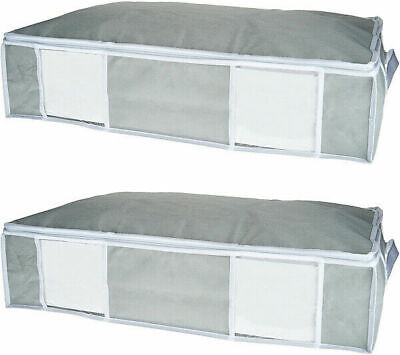 SuperPack 2 Jumbo Underbed Totes w/ Compression Bags Jumbo Underbed Bag